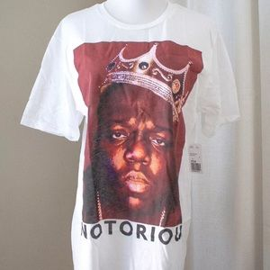 Women's NWT Notorious BIG Graphic T-Shirt Dress